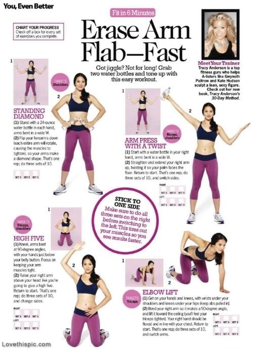 Erase Arm Flab Fast Workout Journey To A Fit Mom