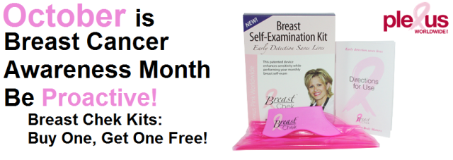 Plexus Breast Chek Kit: Buy One Get One FREE Sale!