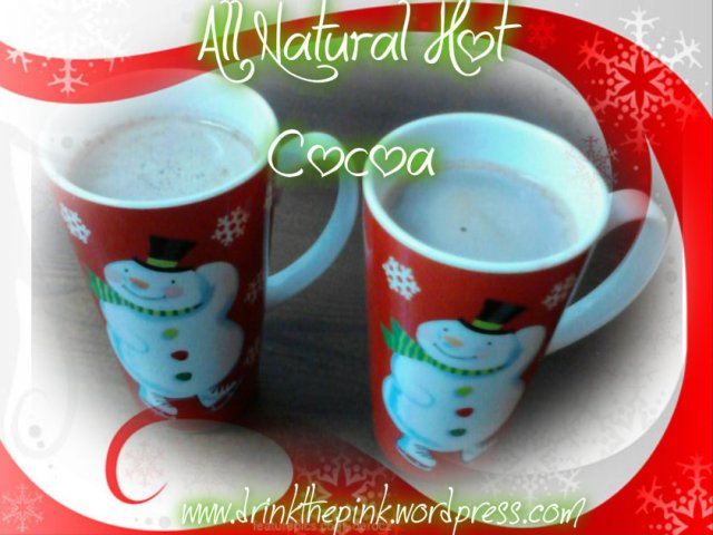 All Natural Hot Cocoa Recipe