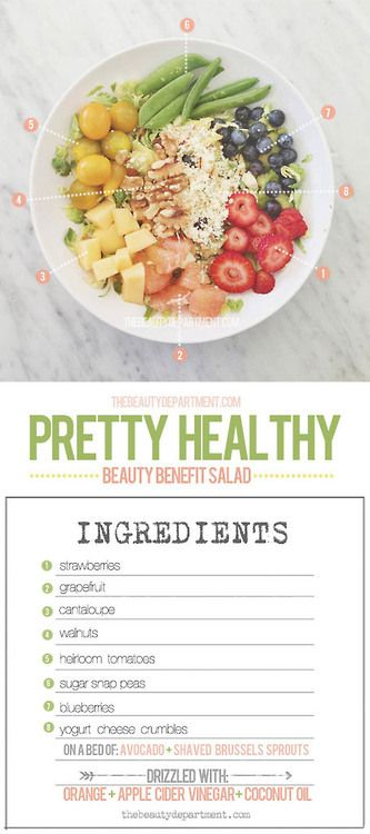 Pretty Health Beauty Benefits Salad Recipe