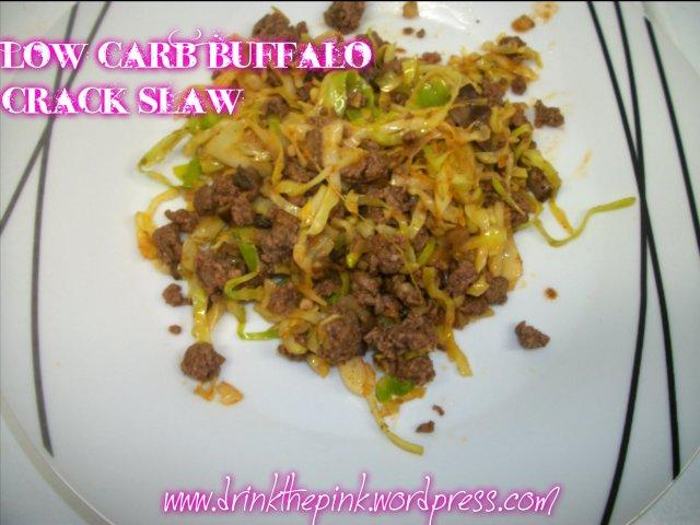 Low Carb Buffalo Crack Slaw Recipe