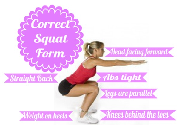 How to squat properly to